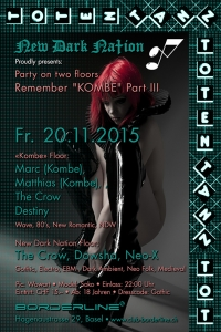 "20. November 2015 - Remember ""KOMBE"" Part III"